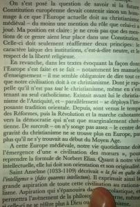 Extrait de A la recherche du Moyen-Âge, Jacques Le Goff