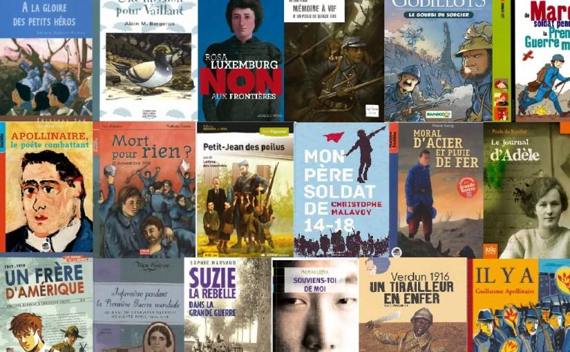 Le roman historique pour la jeunesse sur la Première Guerre mondiale, une idéologie à front renversé de la propagande distillée à l'époque ?