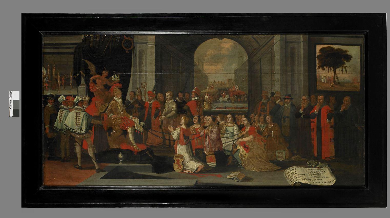 La satire du duc d'Albe © Musée du temps Besançon