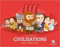 Coffret civilisations: Vikings, Grecs, Gaulois