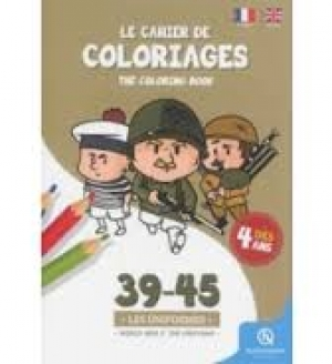 Coloriage Soldat Anglais.Le Cahier De Coloriages 39 45 Les Uniformes World War Ii The